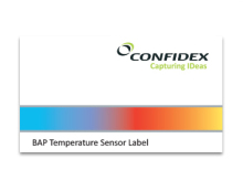 Confidex Temperature Monitoring Label™