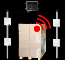 RFID brána s modifikací